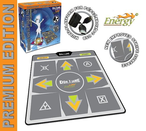 (PS2 / PC USB Energy Non-Slip 4 in 1 Dance Pad)