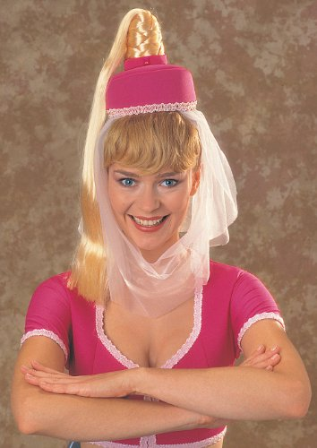 DREAM OF JEANNIE HAT W HAIR