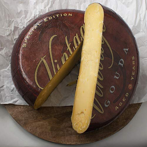 Extra Aged Farm Gouda Cheese (Whole Wheel) Approximately 20 Lbs by For The Gourmet (Image #1)