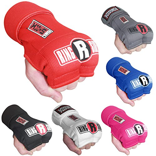 Ringside Quick Wrap Gel Shock Muay Thai MMA Kickboxing Training Boxing Hand Glove Wraps