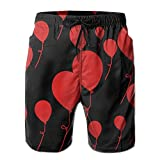 Baloons Men's Polyester Swim Trunks Quick Dry