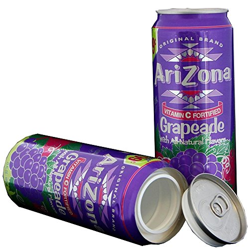 Diversion Can Safe Hidden Stash - Arizona Grapeade by The Home Security Superstore