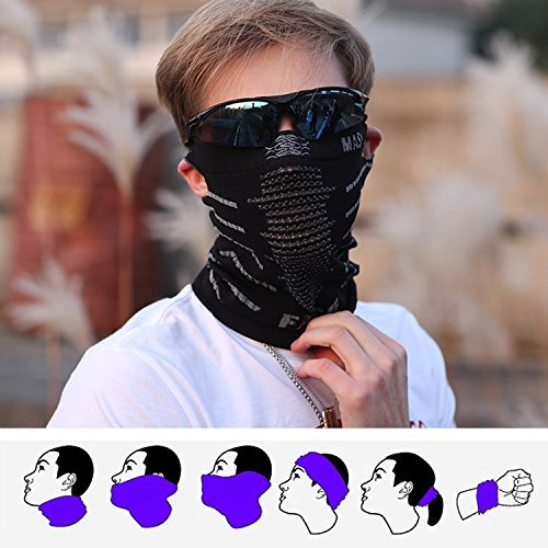 Freehawk Cycling Windproof Face Mask/Breathable Anti UV Face Mask/Neck Warmer Face Mask/Moisture Wicking Face Mask for Outdoor Motorcycle Bike Cycling Skiing Fishing Climbing Hunting Hiking Sports