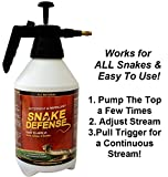 Snake Defense 3Liters Pump Continuous Spray Repellent and Deterrent for All Types of Snakes……