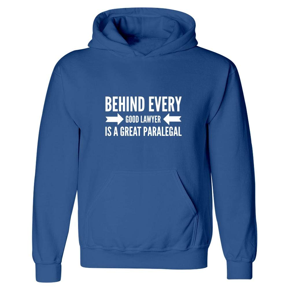 Behind Every Good Lawyer is A Great Law Themed Gifts Stuch Strength Paralegal Hoodie