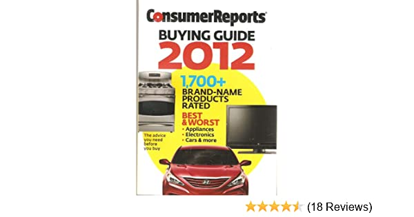 consumer reports buying guide 2012 consumer reports amazon com books rh amazon com consumer reports buying guide 2018 cameras consumer reports buying guide 2018 pdf