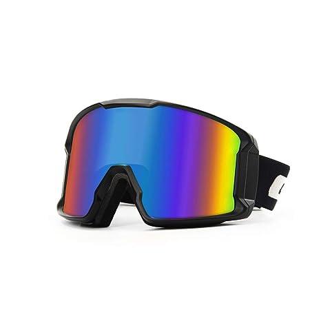 SUJIE Gafas de Esquí Snowboard Gafas sin Marco de la Lente de ...
