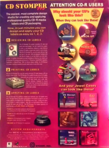 CD Stomper Pro CD Labeling