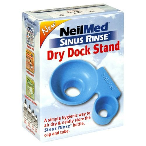 NeilMed Sinus Rinse Dry Dock Stand, Sky Blue