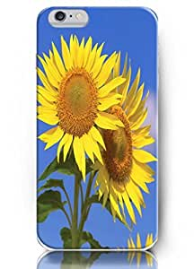 Cute Painting 5.5'' IPhone 6 + Protect Case - Sunflower series - Sunflower Couples BY EPPOR