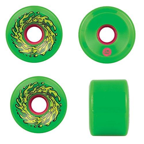 Santa Cruz Old Scool Skateboard Re Issue Wheels 66Mm Og Slime 78A Green