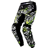 O'Neal Youth Element Attack Pant (Black/Hi-Viz, Size 28)