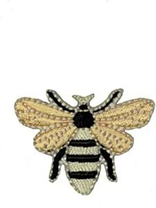 Jacket Bee Patch Embroidered Patch Backpack Wasp Patch Craft Supplies Bug Patch Insect Iron On Patch Patches Clothing Patch