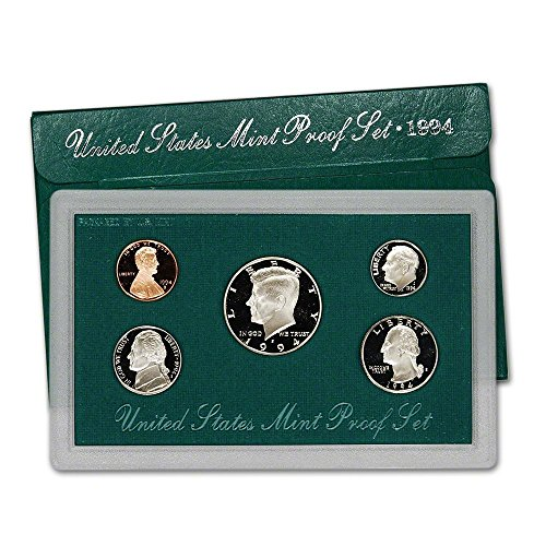 1991 Us Mint Proof (1994 S US Mint 5-Piece Proof Set Orig Box/COA DCAM)