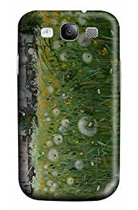 Online Designs Dandelion House Painting PC Hard new case galaxy s3 cover