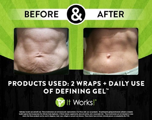 Amazon.com : It Works Defining Gel for Reducing Cellulite and Varicose Veins While Tightening Loose Skin to Firm Abdomen/stomach, Back, Legs and Upper Arms ...