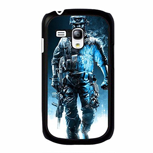 Cool Strong Soldiers 3D PC Game Battlefield Phone Case Cover for Coque Samsung Galaxy S3 Mini Battlefield 4 Trend,Cas De Téléphone