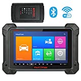 Autel MK908 Ultimate Wireless Automotive Scan Tool with ADAS, ECU Coding, Full Bi-Directional Control, ABS Brake Bleed, OE-Level All Systems Diagnosis OBD2 Scanner, Advanced Ver. of MS908 MS906 MK808