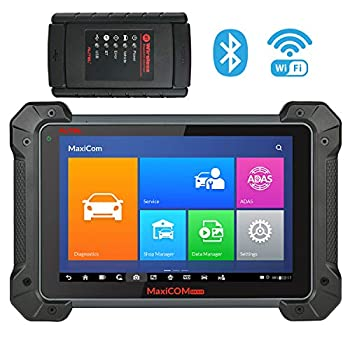 Image of Autel MaxiCOM MK908 Ultimate Automotive Diagnostic Scan Tool with ADAS, ECU Coding, Full Bi-Directional Control, ABS Brake Bleed, OE-Level All Systems Diagnosis, Upgraded Ver. of MS908 MS906 MK808 Code Readers & Scan Tools