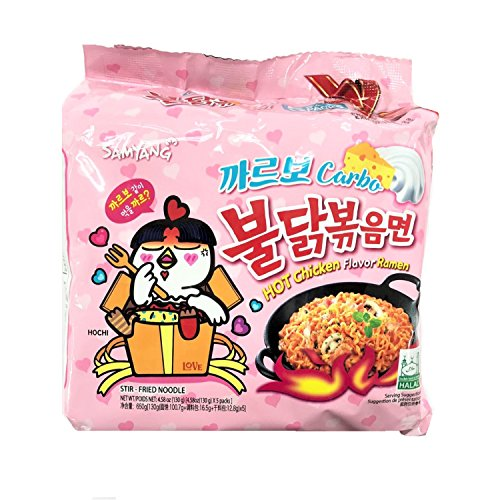 (Samyang Carbo Spicy chicken Fried noodles)