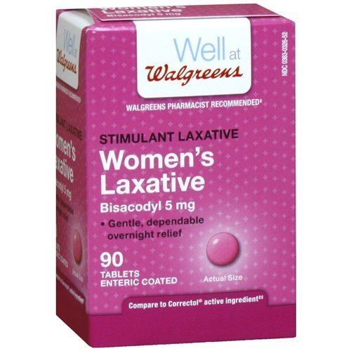 Walgreens Woman's Laxative Tablets 90 ea by Walgreens