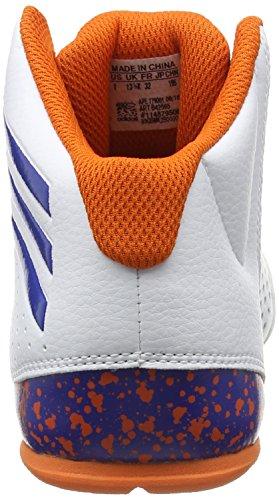 Blanc Chaussures Sport Garçon Ftwbla LVL Blanco Iv de Nxt SPD NBA Cassé Naranj K Azul Basketball adidas vYAqPwn8