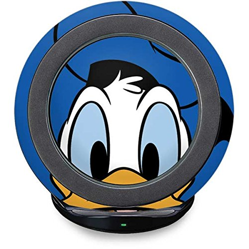 Mickey & Friends Fast Charge Wireless Charging Stand Skin - Donald Duck Up Close | Disney X Skinit Skin