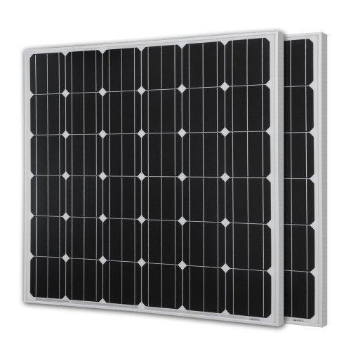 UPC 720189719332, Renogy 150 Watts 12 Volts Monocrystalline Solar Panel ,2 Piece