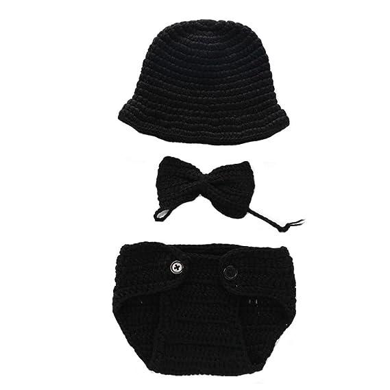 Ears Baby Infant Crochet Work Winter Knitted Hat Beanie Cap ...
