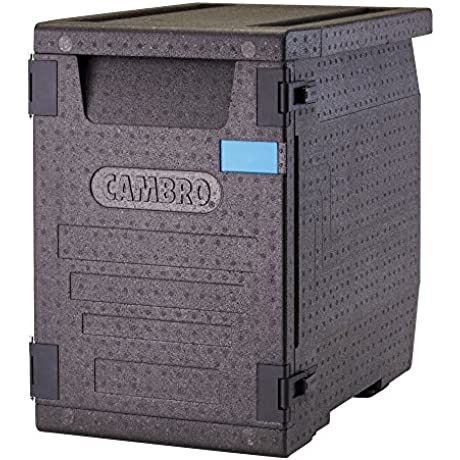 Cambro EPP400110 Insulated Food Carrier Black