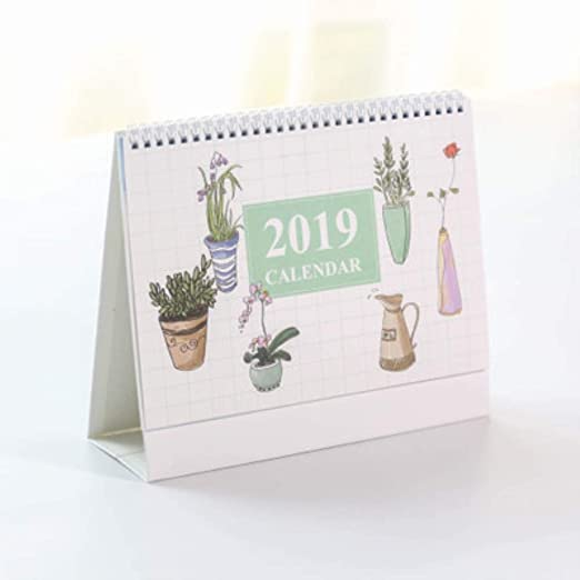 Grea 2019 Chino Antiguo Acuarela Serie Calendario de Escritorio ...