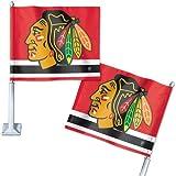 NHL Chicago Blackhawks Car Flag, 11.75'' x 14''