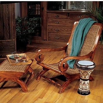 Merveilleux Design Toscano British Plantation Arm Chair