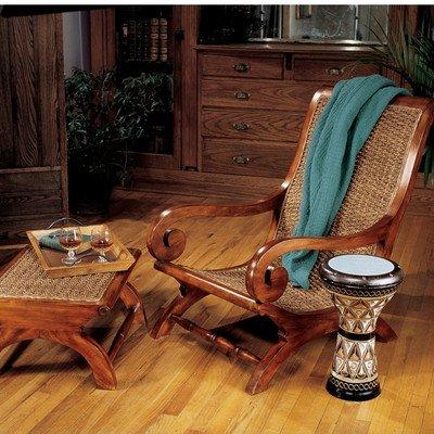 Design Toscano British Plantation Arm Chair