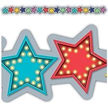 Teacher Created Resources (3495) Marquee Stars Die-Cut Border Trim