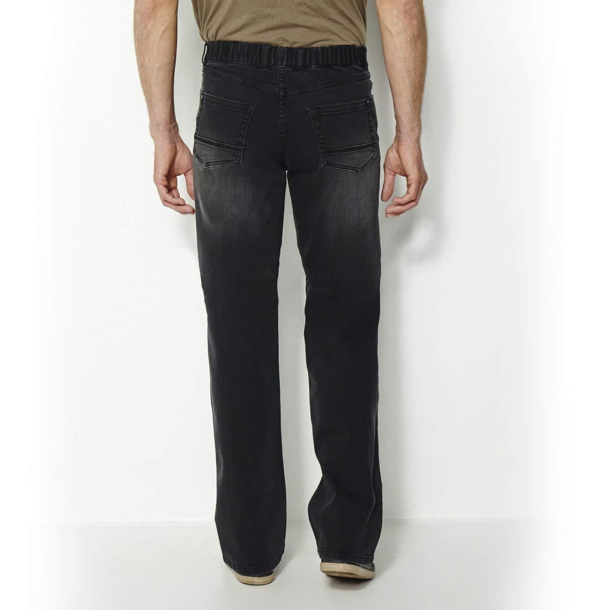 Length 33 La Redoute Castaluna for Men Mens Elasticated Waist Stretch Jeans