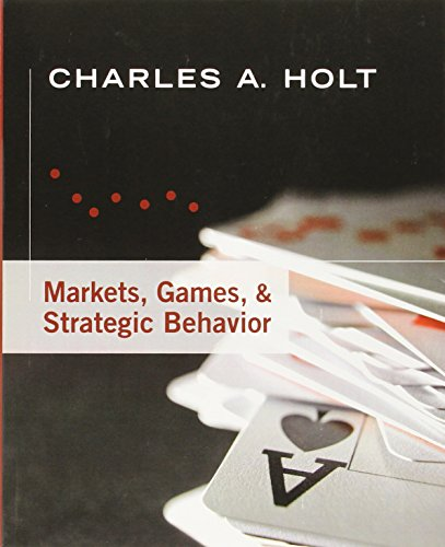 Markets, Games, & Strategic Behavior