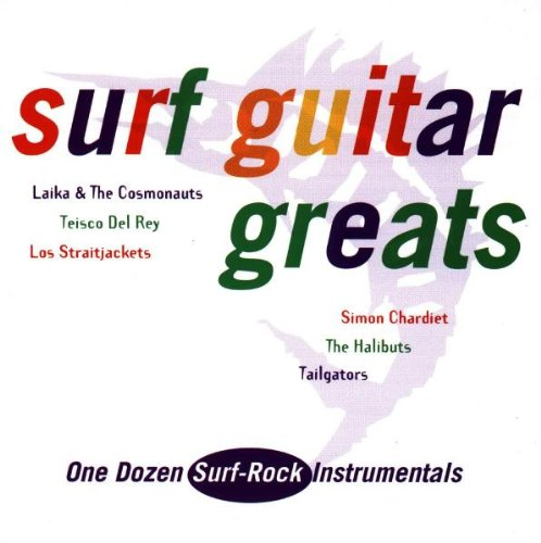 UPC 712136703624, Surf Guitar Greats