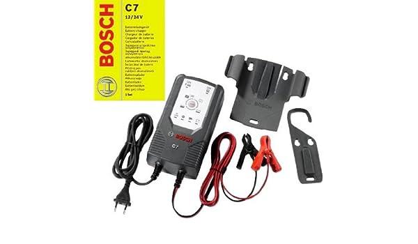Bosch 0189999070 microprozessor C7 - Cargador de batería, para 12 ...