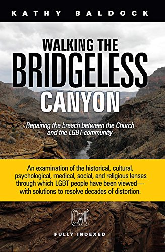 Walking the Bridgeless Canyon: Repairing the Breach Between the Church and the LGBT Community by [Baldock, Kathy]