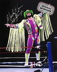 Facsimile Autographed Randy Macho Man Savage Photo - WWE