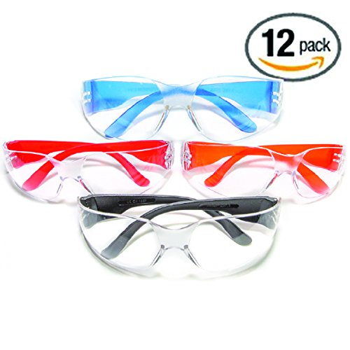 Ultimate UV Protection, Scratch Resistant Clear Lenses Safety Glasses, Pack of - Protection Of Type Eye For Best Sunglasses