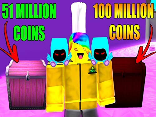 000 Coins - Clip: Roblox Pet Simulator Max Chests Millions Of Coins