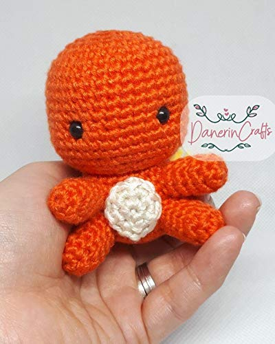 Charmander | Pokemon crochet pattern, Crochet pokemon, Crochet dragon | 500x400