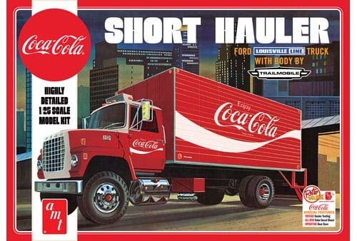 AMT AMT1048 1 1970 Ford Louisville Short Hauler 'Coca Cola' , 1:25 Scale from AMT