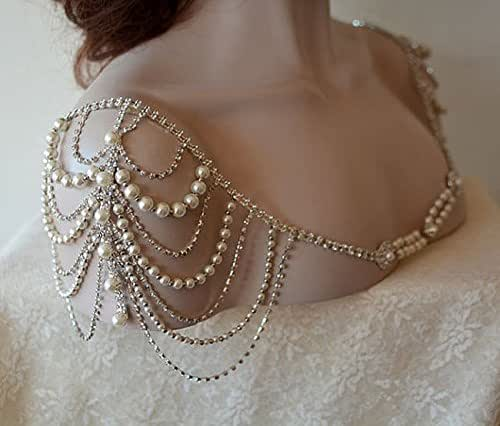 Necklaces And Wedding Dress