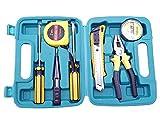 Novicz Plastic Home Tool Box Set Multicolor-3 (7-Pcs)