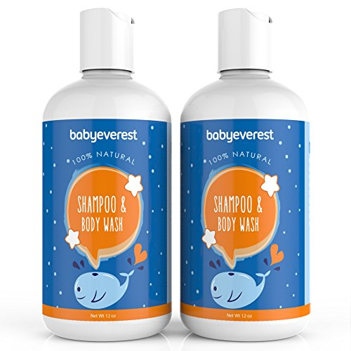 Baby Everest - Shampoo and Body Wash 12oz each (pack of 2)