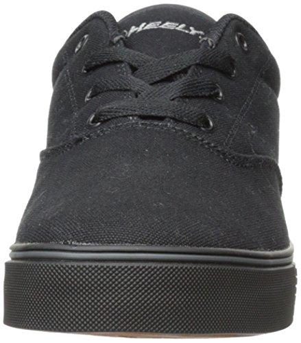Zapatillas De Skate Heelys Launch (niño Pequeño / Niño Pequeño / Niño Grande) Lona Negra