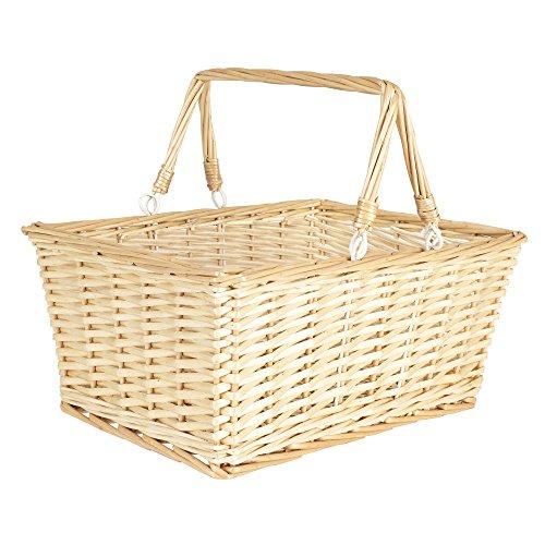 Household Essentials ML-2202 Open Top Market Basket with Handles